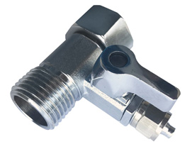 "Ball Valve Water Faucet Tap (1/2"" NPT,1/4"" TUBE)"